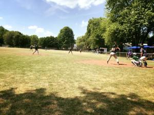 Mixed Softball - BBQ Liga Mai 2018 - Hit Hunters Wuppertal Stingrays at Dockers Field