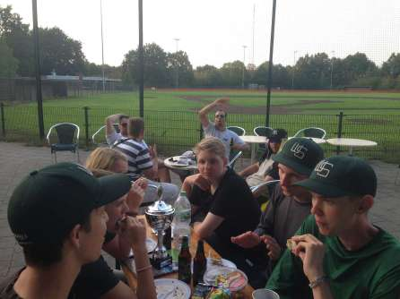 Wuppertal Stingrays at Venlo Mustangs August 2018