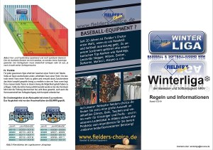 Fielder's Choice Winterliga Regeln 2019
