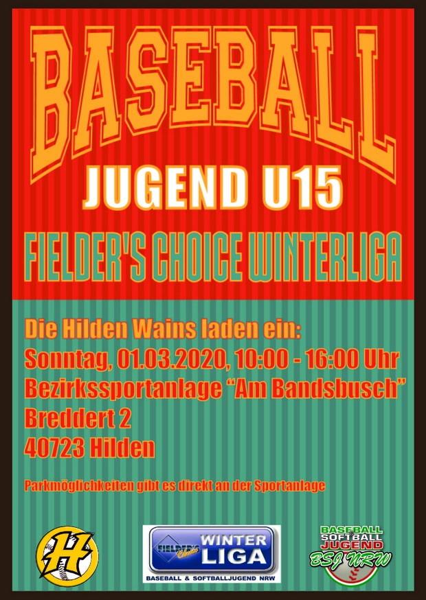FieldersChoice-Baseball-Winterliga-2020-U15-Hilden