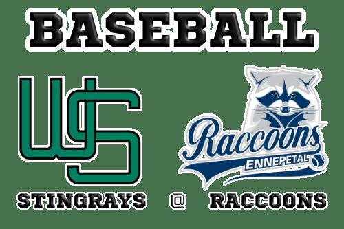 Baseball Wuppertal Stingrays at Ennepetal Raccoons