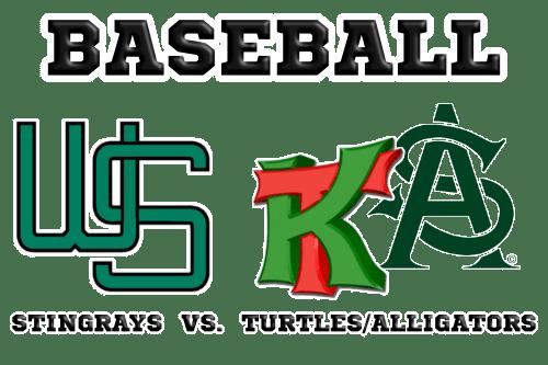 Baseball Wuppertal Stingrays versus SG Kapellen Turtles/Solingen Alligators