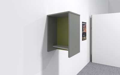 würk in Style! Wall Mounted Office Phone Booths