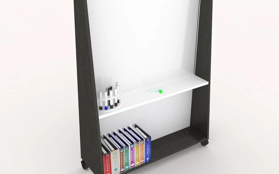 würk in Style! Glass Mobile Markerboards