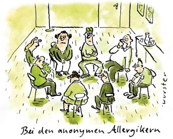 Allergie Heuschnupfen Pollen Hausstaub