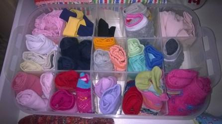 #chaosfreieskinderzimmer Kleiderschrank Socken