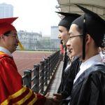 Tim Vukan bachelor graduation at zhejiang chinese medical university
