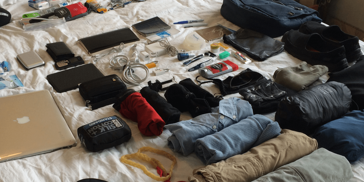 Image result for minimalist packing