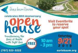 earle baum center open house poster