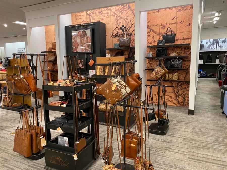 patricia nash handbag display macys