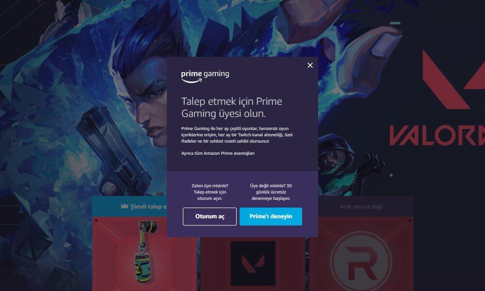 Prime Gaming VALORANT Ödülleri
