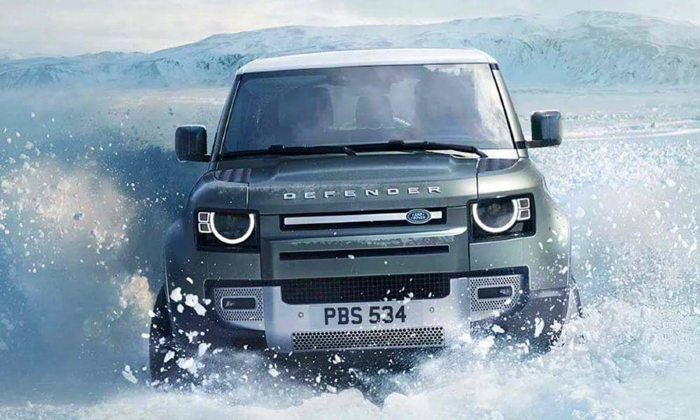 Yeni Land Rover Defender Euro NCAP'te 5 Yıldız Aldı