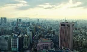 Taipei Cityscape from Taipei 101