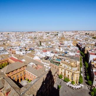Seville from La Giralda
