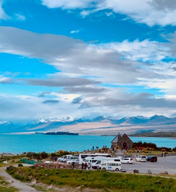 Church of Good Shepherd overlooking Lake Tekapo