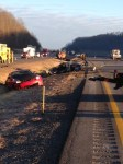 crash on I-79 near weston