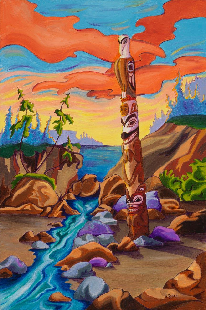 Haida Totem