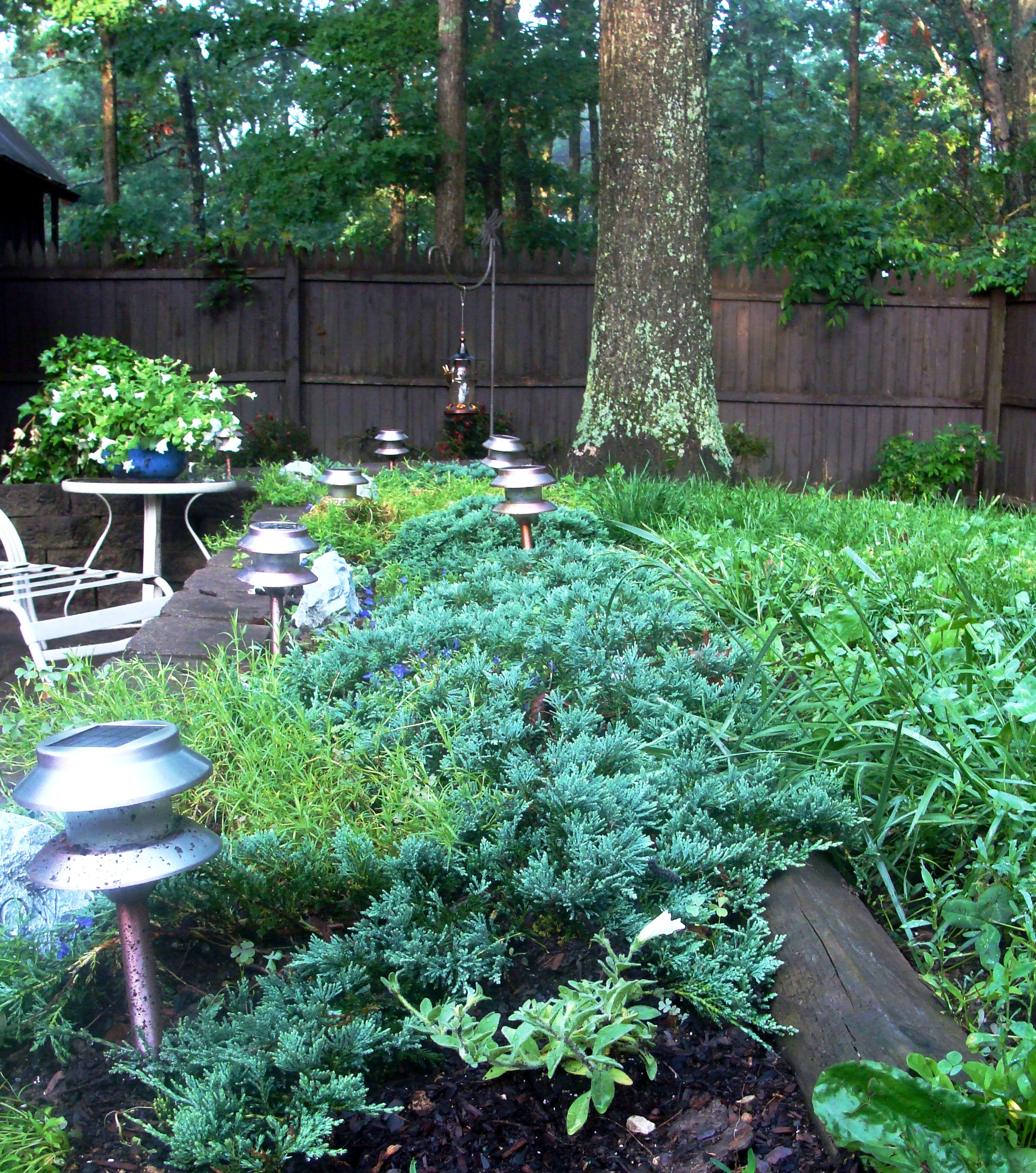 retaining wall bed