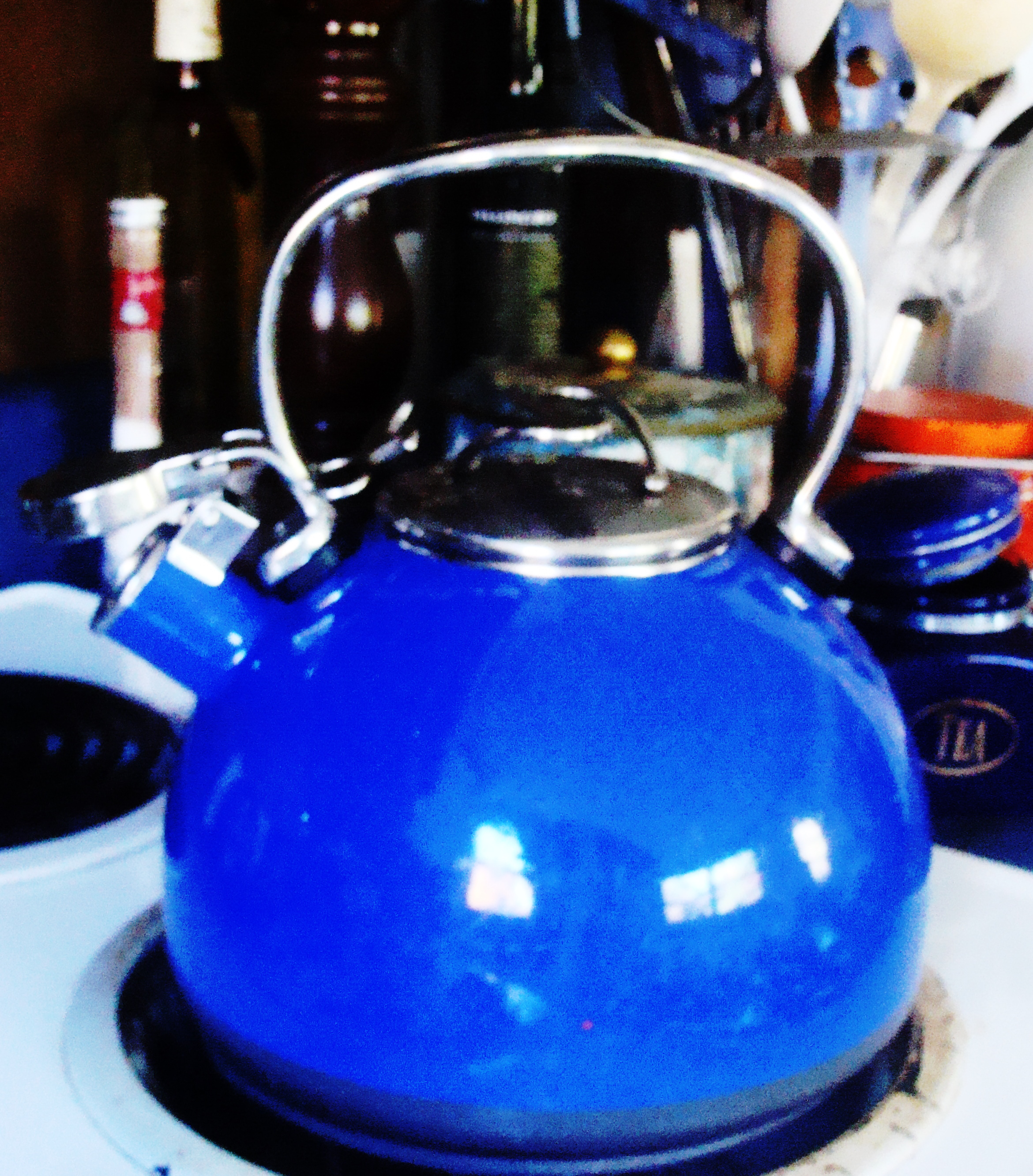 The well-used kettle.