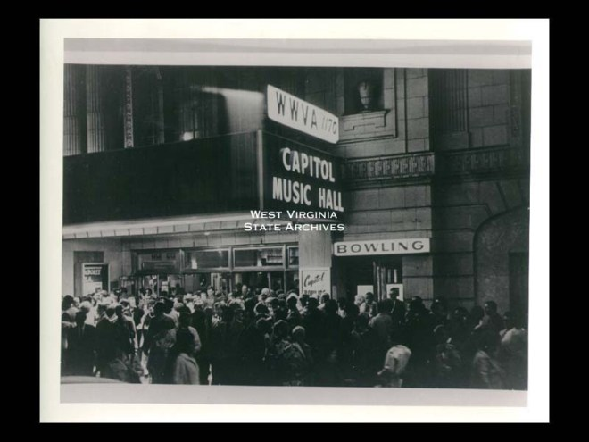 Capitol Music Hall from WV Memory