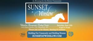 Sunset At Winslow @ Winslow Therapeutic Riding Center