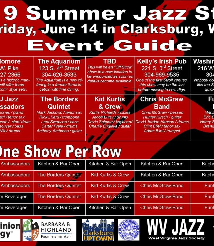 Improvisation – The Journal of the West Virginia Jazz Society