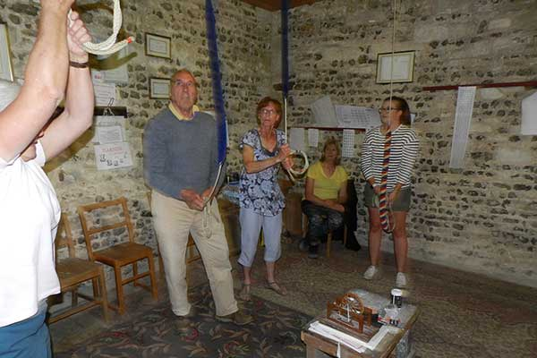 Bell Ringing practice at W Whitechurch