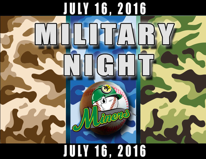 07/16: FREE admission to military veterans with ID or wearing military shirt or hat