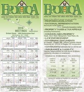 2016_EPOHOA_Meetings