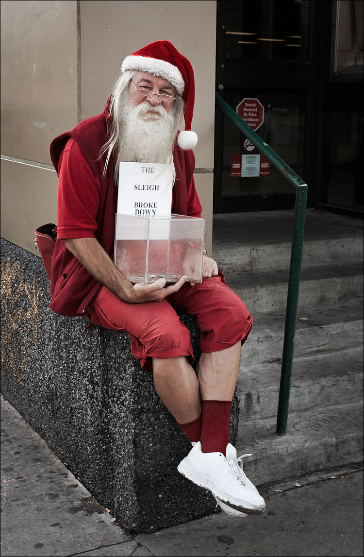 Broke Santa
