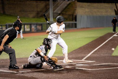 West Virginia catcher Caleb Taylor. Logan Adams/WVSN
