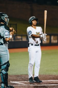 West Virginia centerfielder Jason Thomas. Logan Adams/WVSN