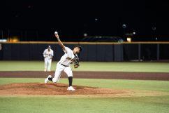 West Virginia pitcher Ga'von Wray. Logan Adams/WVSN