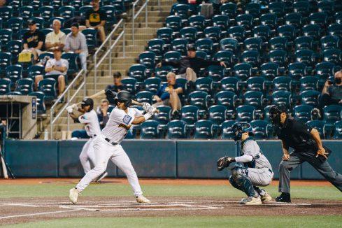 West Virginia second baseman Eli Hamill. Logan Adams/WVSN