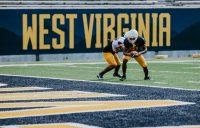 Receiver Zack Dobson. WVU Athletics