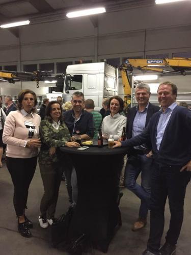 2017 - Bezoek Volvo & VDK team Gent
