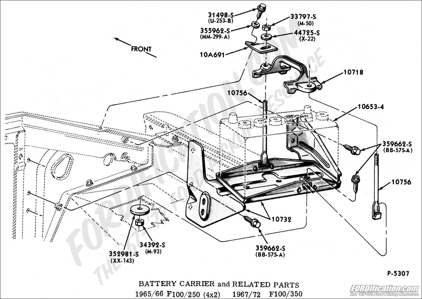 Ford F100 Wiring