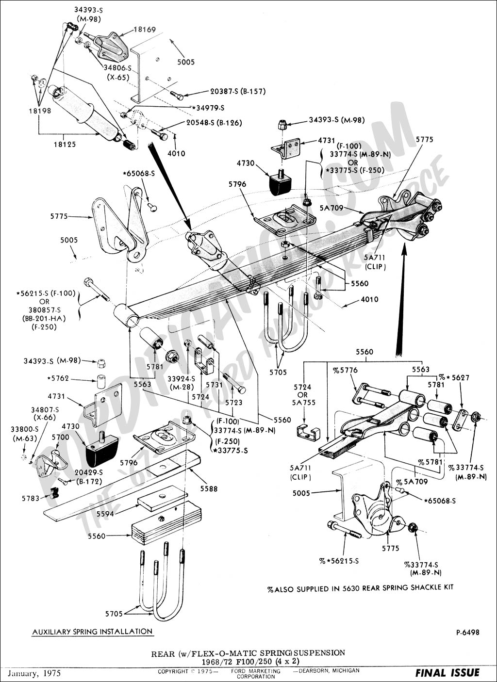 Schematic For 73 Ford Truck