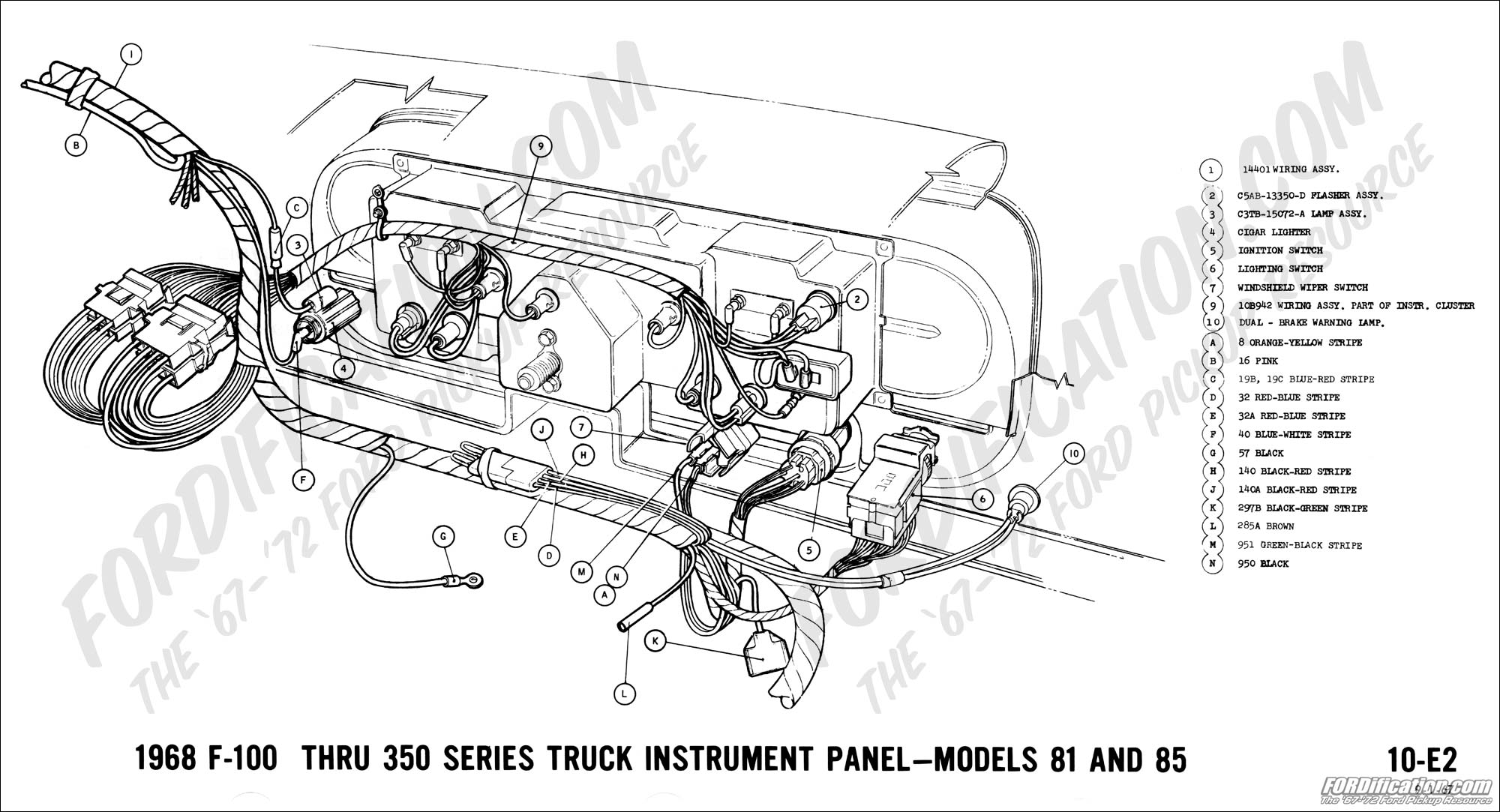 Ford F100 Wiring Diagram Ford Auto Wiring Diagram