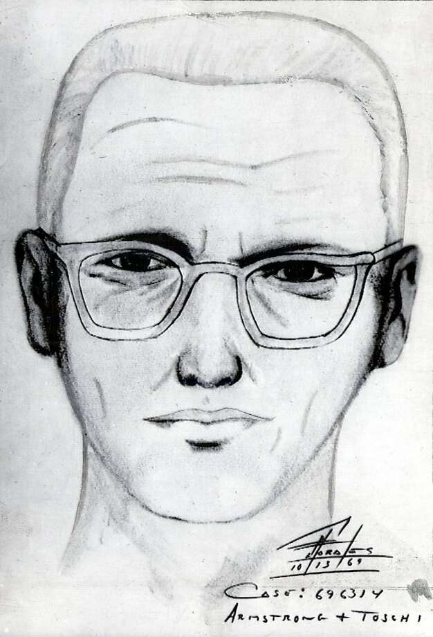 """Police sketch of the man suspected of being the """"Zodiak Killer,"""" 1969. Photo: Handout, The Chronicle"""