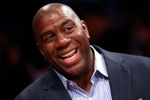 Basketball legend Magic Johnson   Photo: Stephen Dunn, Getty Images / 2012 Getty Images