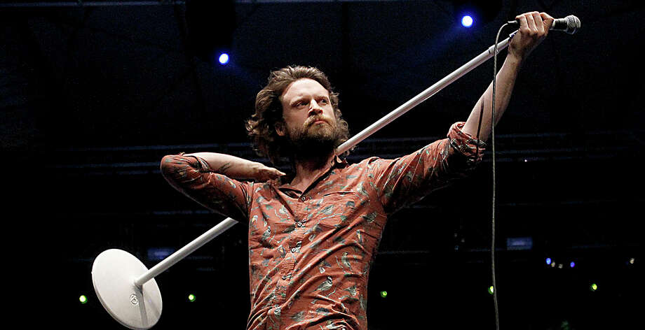 Father John Misty performs at the Coachella Music and Arts Festival. Photo: Luis Sinco / McClatchy-Tribune News Service / Los Angeles Times