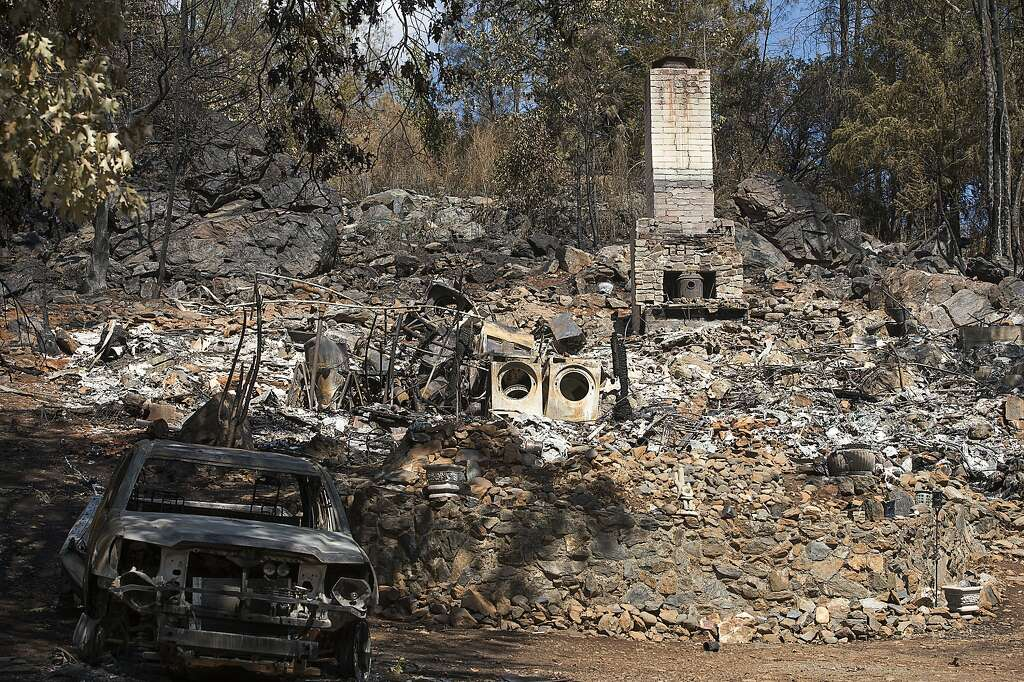Image result for redwood valley house burned
