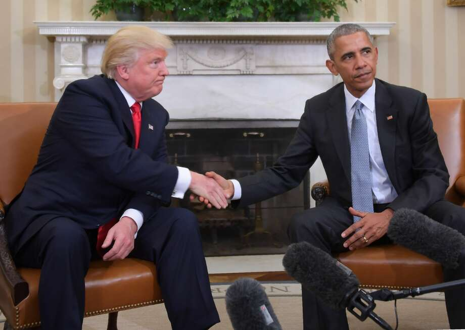 Image result for TRUMP MEETS WITH OBAMA