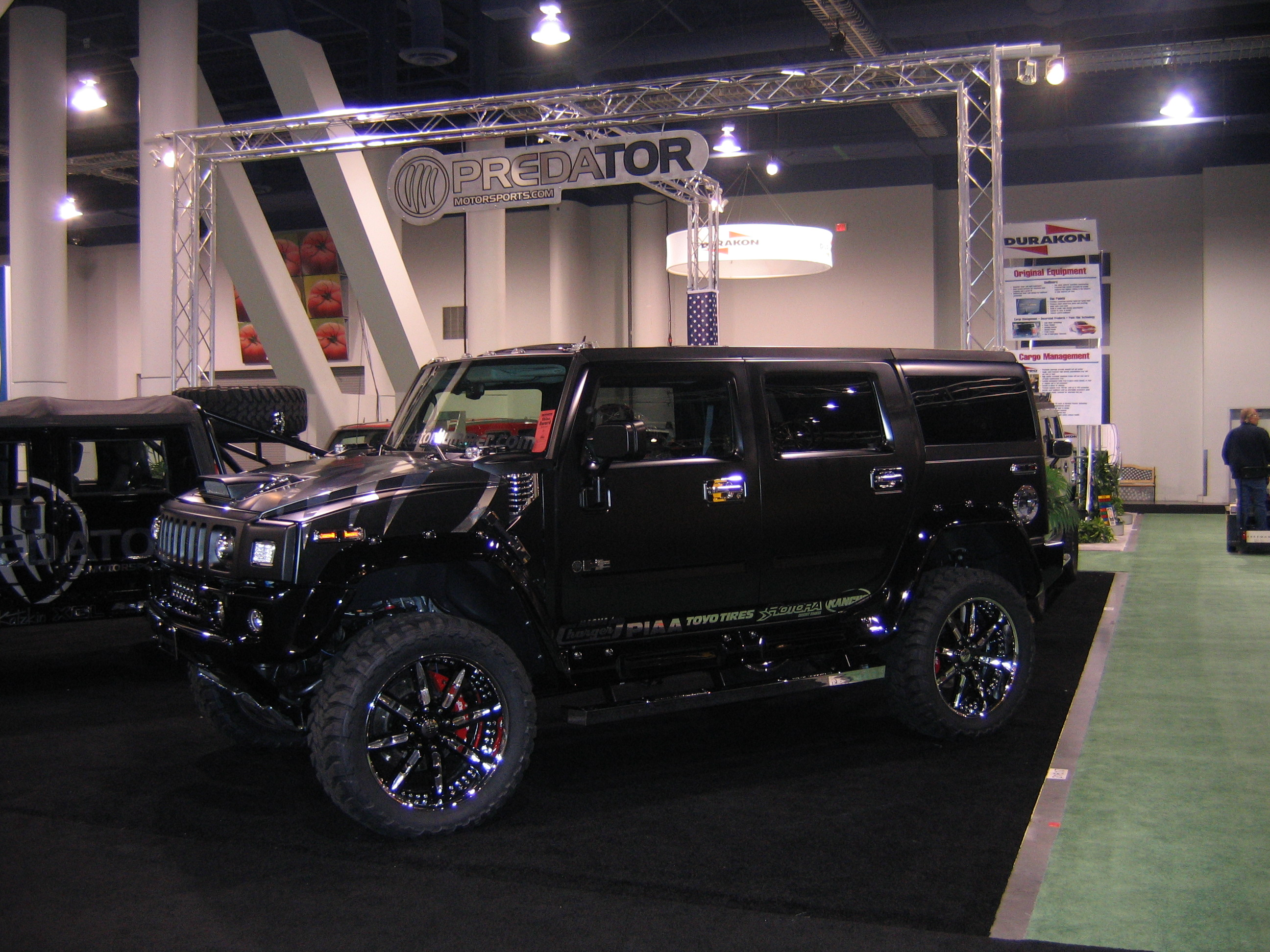 H2 AND H1 Hummers with the Duramax Allion were being inspected by