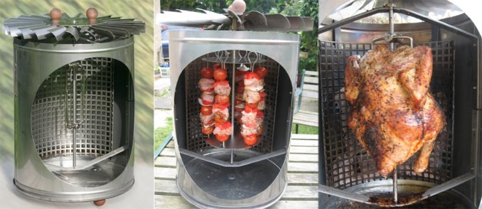 The New Eco-Friendly Self Propelled Chicken Rotisserie