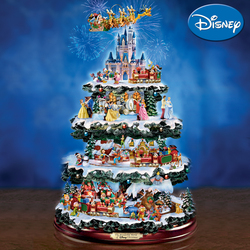 Ultimate Disney Christmas Tree Delights With Lights Sound