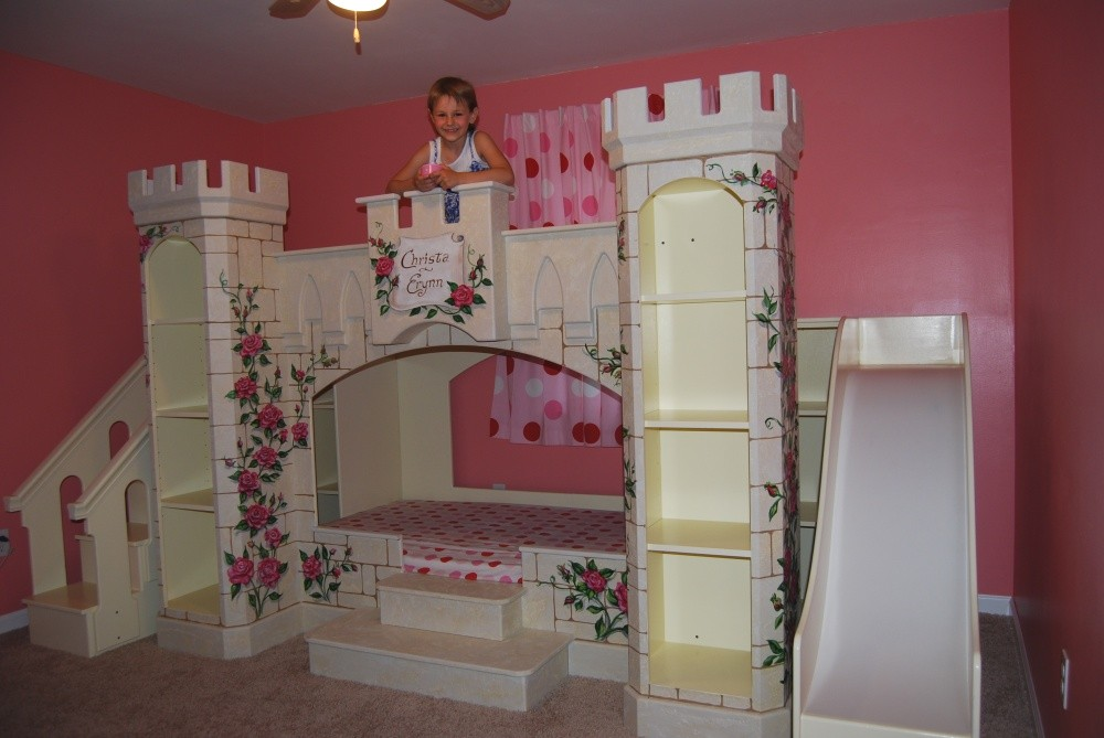 Make A Wish Foundation And Sweet Dream Theme Beds Grant Girls Wish Of A Fairy Tale Princess