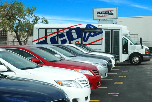 Miami Rental Car Company Aco Opens At The Miami International Airport