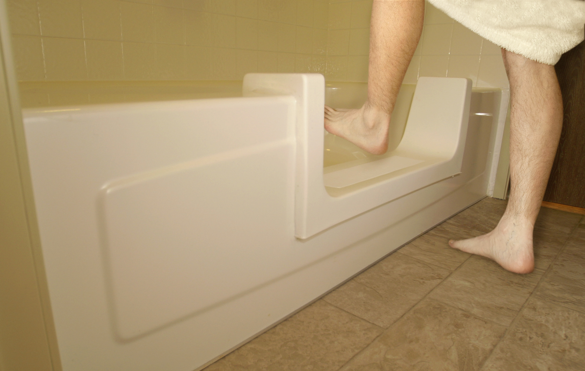 Miracle Method Introduces A Door Option For Its Easy Step Bathtub To Shower Conversion